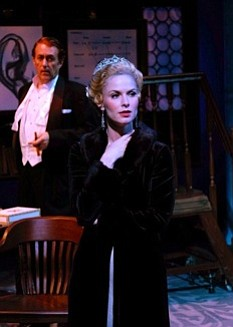 Allison Spratt Pearce in My Fair Lady at Cygnet Theatre