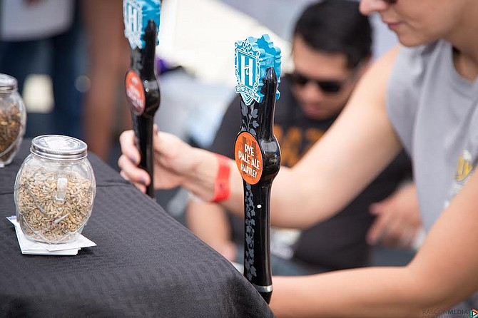 Pouring beer is just one of the many brewery jobs available.