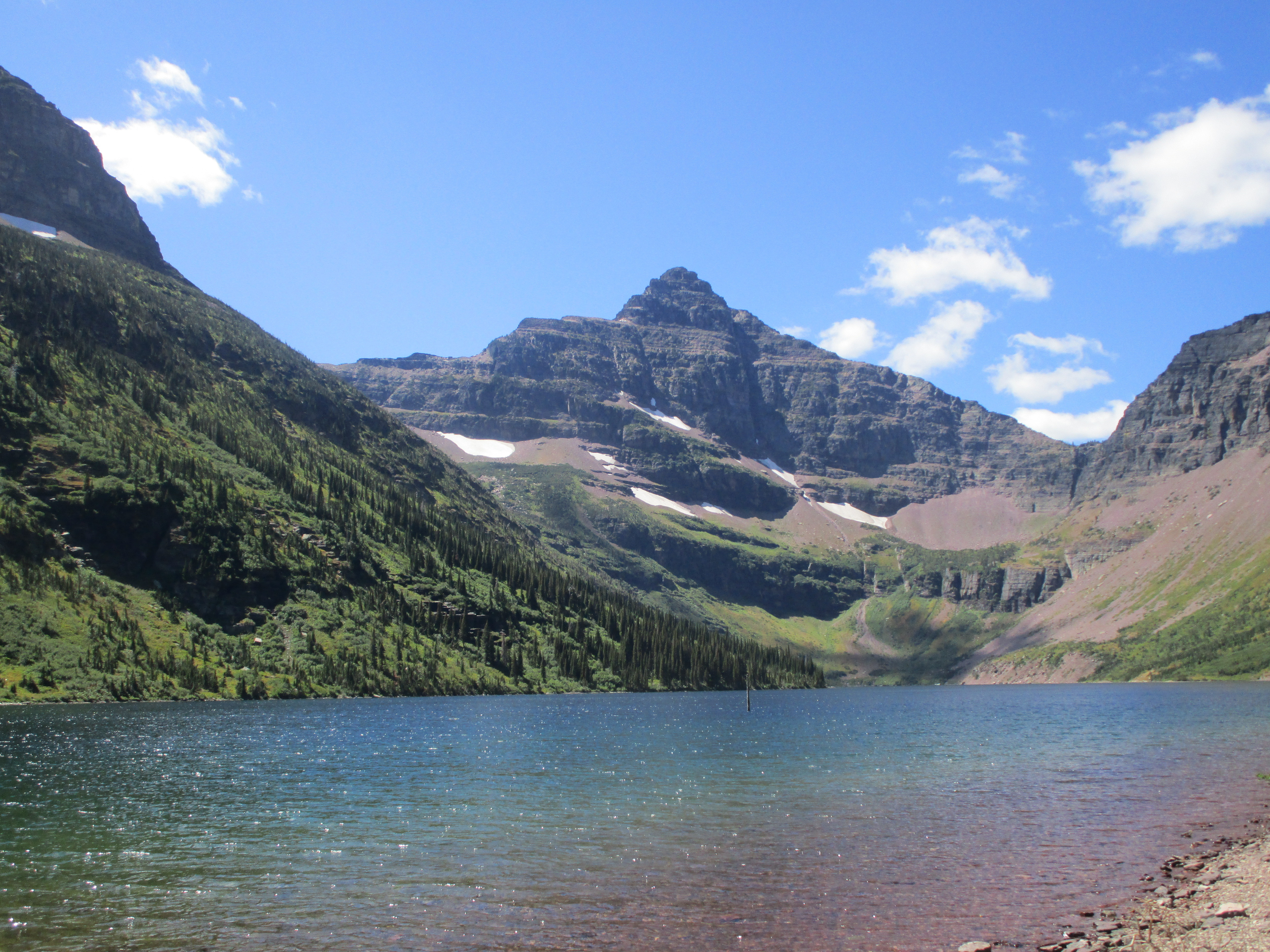 Upper Two Medicine Lake, Glacier National Park