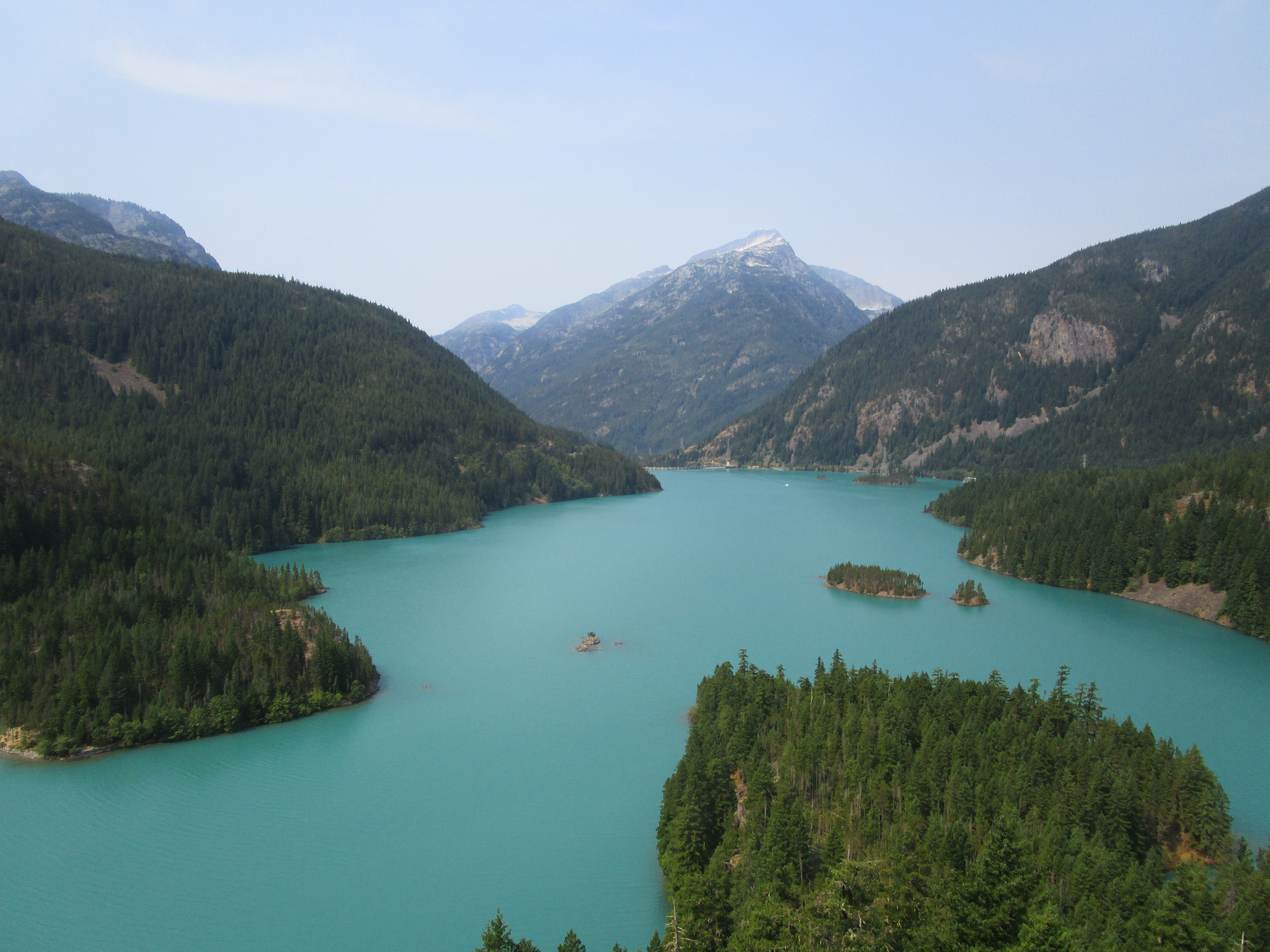 Diablo Lake in North Cascades National Park