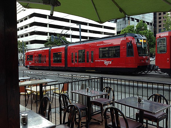 Trolleys add atmosphere to dining