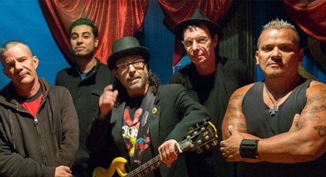 The Dickies were set to rock the Turtle, but with that San Marcos bar on the auction block, the show's been moved to Brick by Brick.