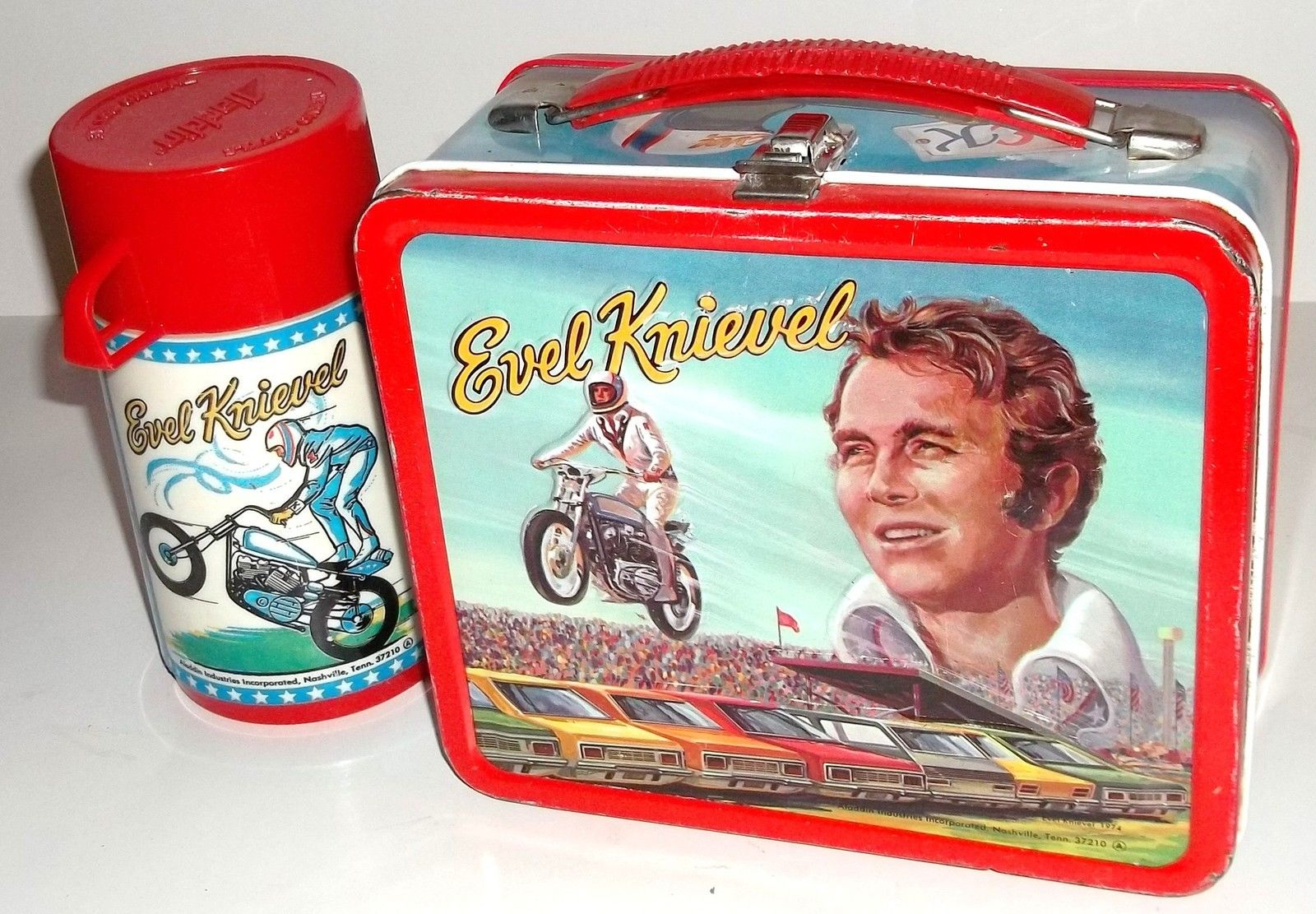 Evel Knievel Insurance Salesman: What Evel Lurks...