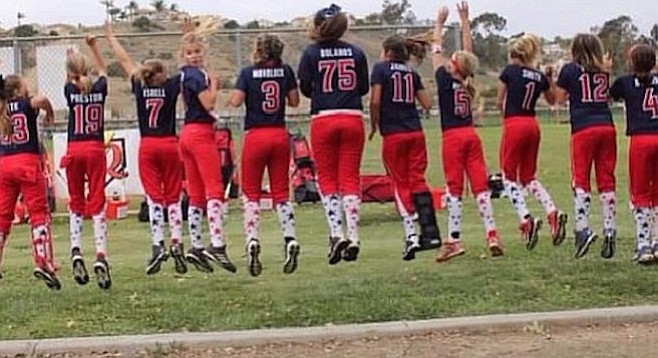 Best season in 47 years for the Clairemont Girl's Fastpitch League