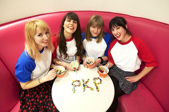 Peach Kelli Pop will deliver some sugar-coated pop-rock to Ché Café on Sunday!