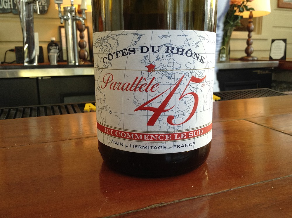 Cheapest wine in the house is French, and at HH price of $5, c'est choix!