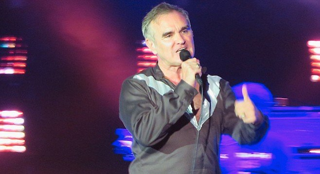 Morrissey at the Observatory: night one of two in North Park was light on hits and heavy on feeling.