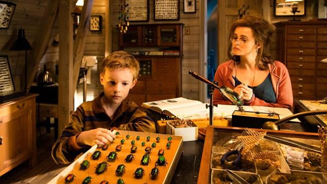 Kyle Catlett and Helena Bonham Carter.