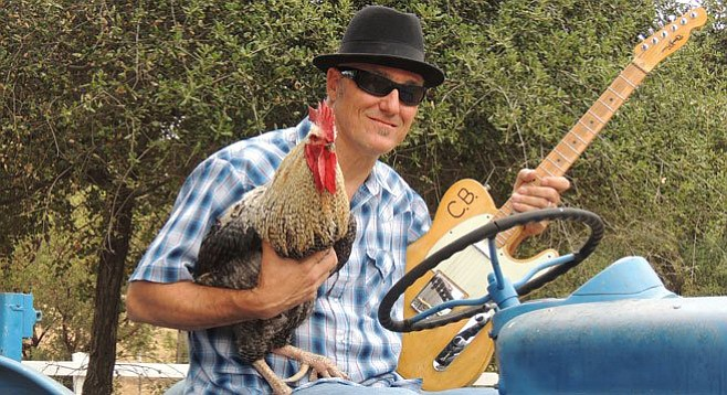 """ASCAP, if you're reading this, please note that Chickenbone Slim intends to play """"original songs for the kids, dogs, and foodies."""""""