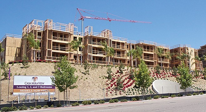 Is Casa Mira View too large to be monitored by the Section 8 Rental Assistance Program?