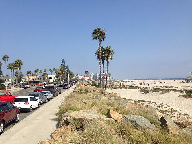 Not all Coronadoans want a bike path along Ocean Boulevard.