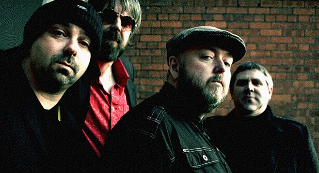 Irish power-pop player Pugwash takes the stage at Til-Two Thursday night.