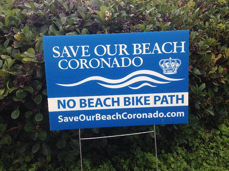 """The protest signs that have appeared since June are """"not a normal occurrence,"""" said the mayor."""
