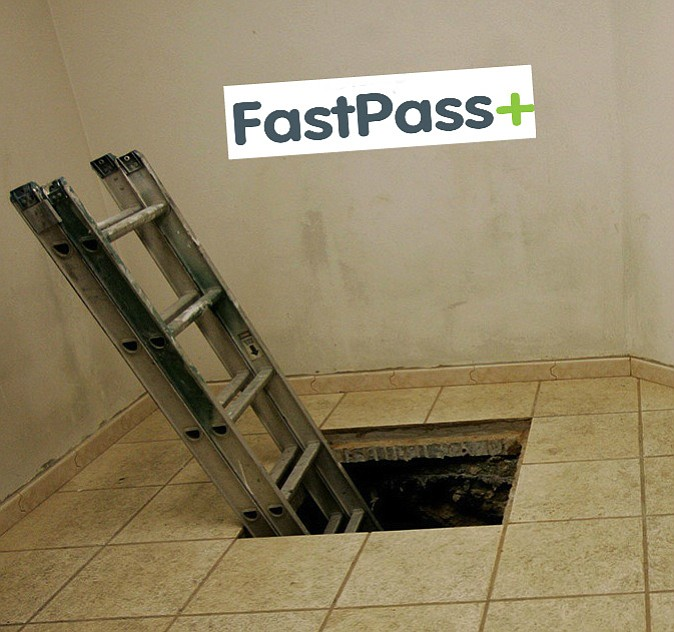 Entrance to just one of the roughly 40,000 drug tunnels between the United States and Mexico. The free market strikes again!