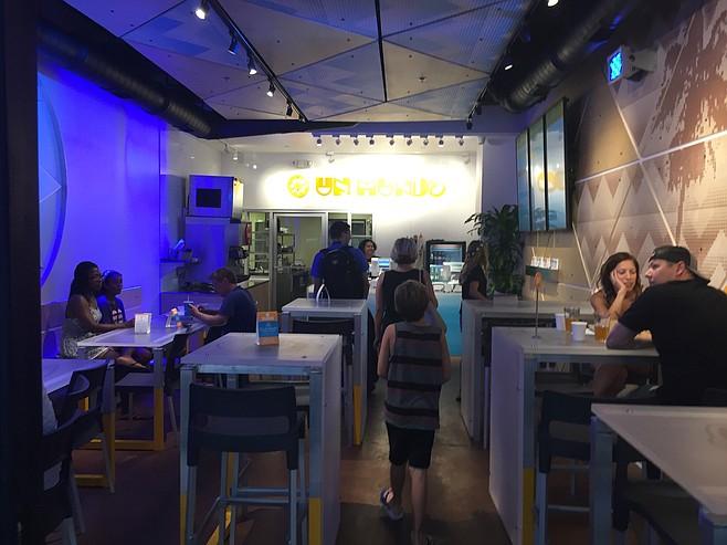 Interior of Un Mundo Mexican Grill in University City