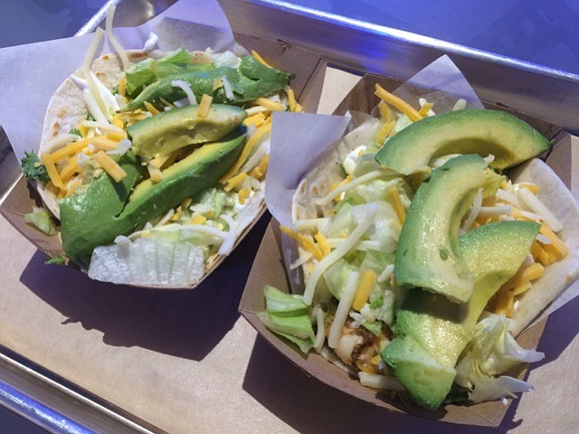 Lime-cilantro tacos