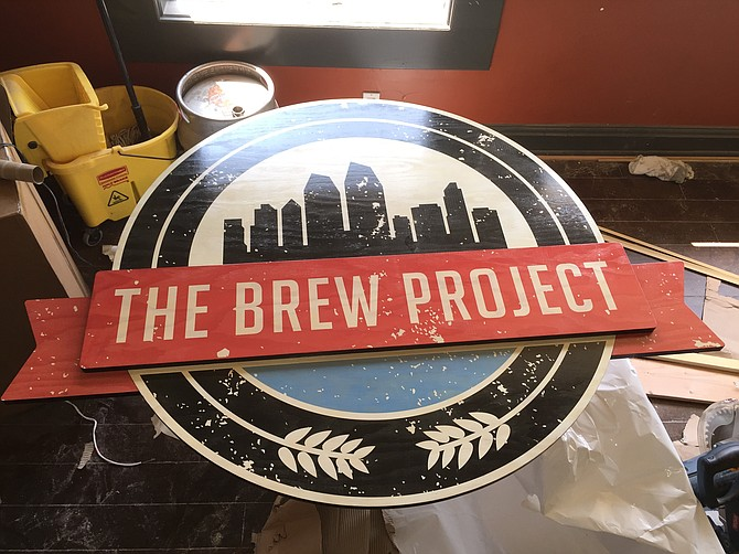 Construction nearing completion on the new Brew Project in Hillcrest.