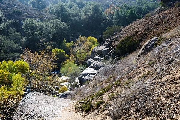 Santa Ysabel Creek in Clevenger Canyon