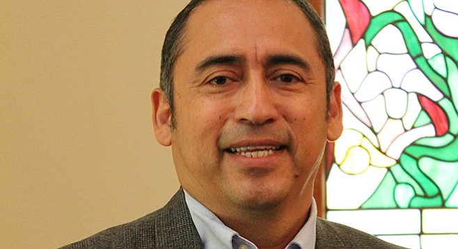 "Luis Garcia: ""We are a mutual community, a nurturing center for all, making disciples for Christ."""