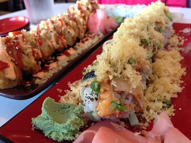There's no shortage of tasty rolls at Narumi Sushi.