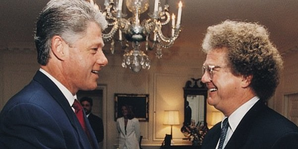 Bill Clinton and William Lerach