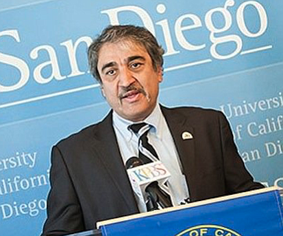 """When UCSD Chancellor Pradeep Khosla took over negotiations, the meetings with the Ché collective took on """"a completely different tone"""" — from confrontation to resolution."""