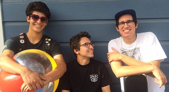 Surf-punk trio Fake Tides are looking forward to testing the waters at Pacific Beach's new all-ages venue, the Pit.