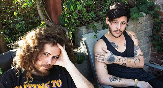 """Wavves' Pope and Williams set to release V, on which, Pope says, """"The songs are way faster, more upbeat, more energetic and fun."""""""