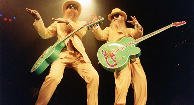 Texas blues-rock trio ZZ Top will play Humphreys by the Bay on Sunday!