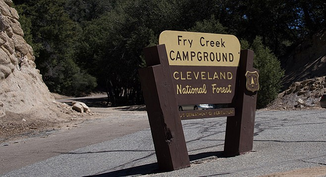 Don't forget your Adventure Pass for Cleveland National Forest