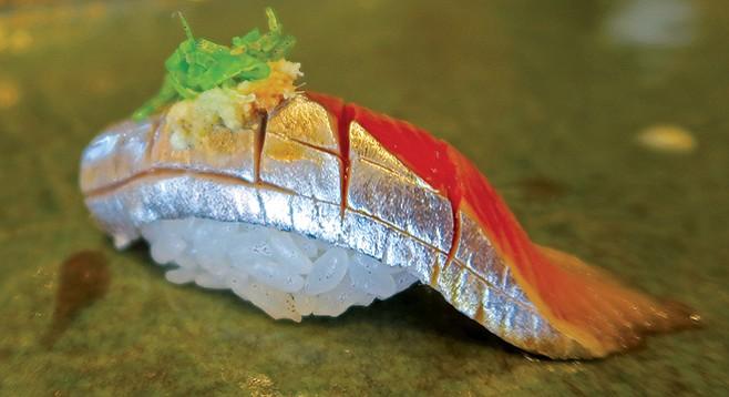 Aji at Sushi Tadokoro