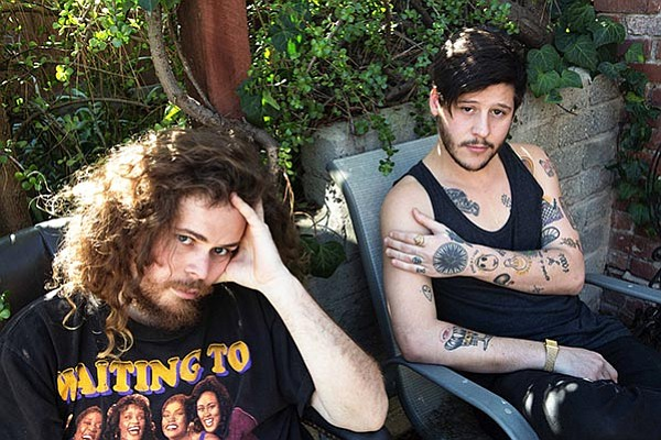 Surk-punk band Wavves crash at the Observatory on Tuesday.
