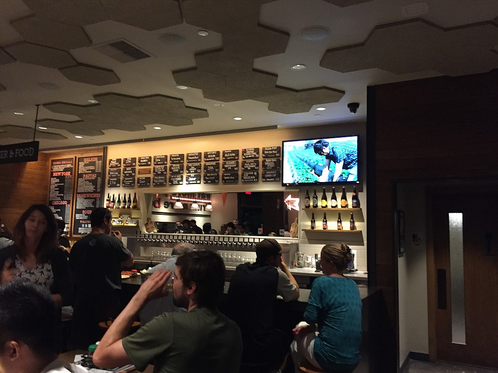 Regents Pizzeria has more than 30 beers on tap.