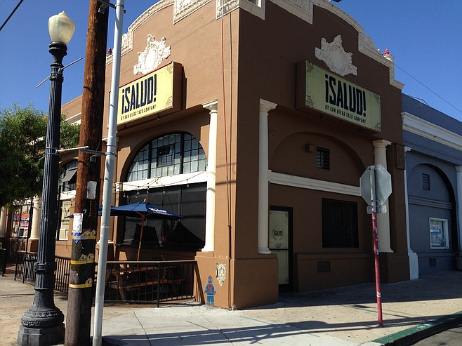 A somewhat-historic storefront on an up-and-coming block of Barrio Logan