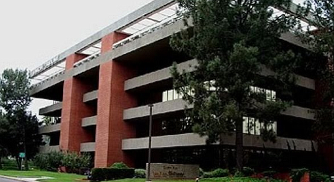 Union-Tribune building in Mission Valley