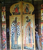 Another traditional icon typical of Russian churches