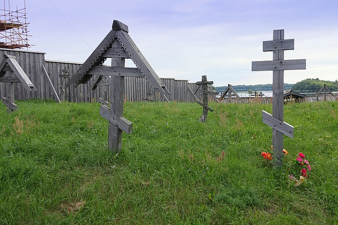 grave yard markers