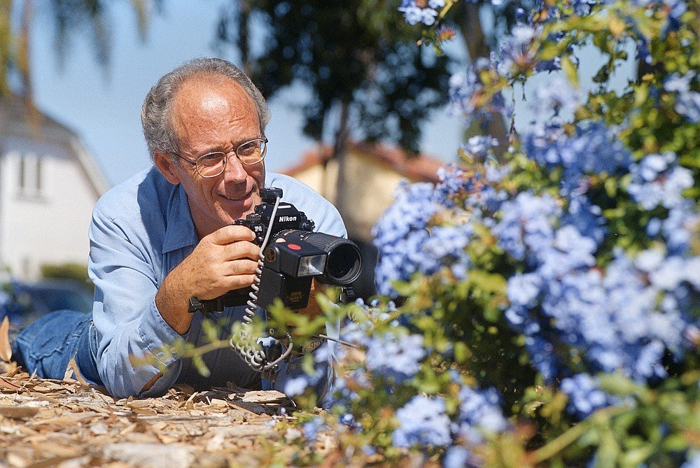 Bob Parks is almost completely self-taught — as a photographer, as an entomologist, lepidopterist, herpetologist, etc.