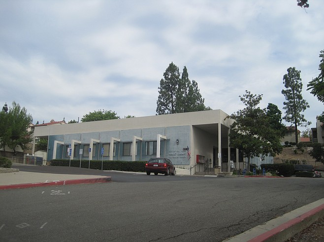 Current San Carlos library