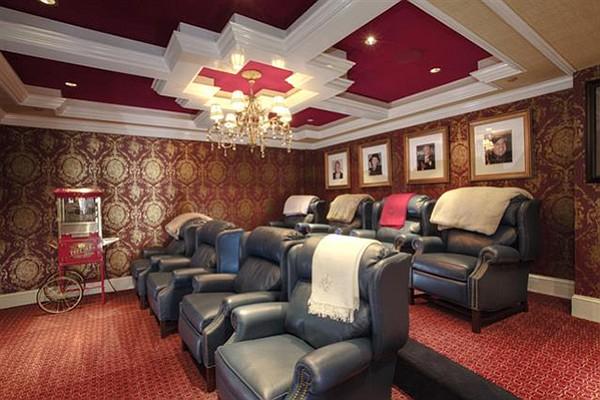 Eight-seat theater