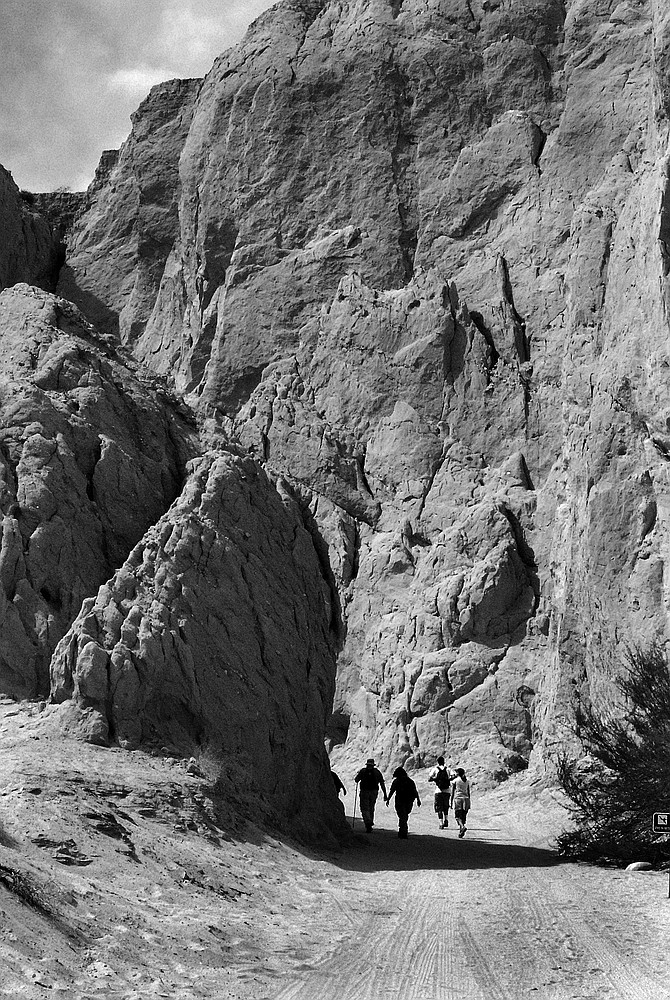 """Badlands. """"To me, this is one of the many really outstanding places in San Diego County,"""" Schad said."""