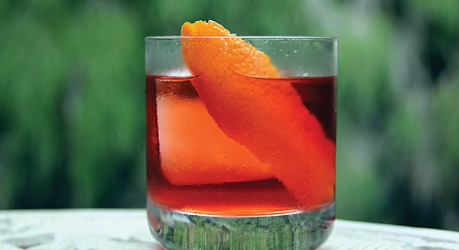 Negroni...kind of like bacon