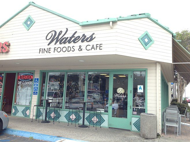 Waters Fine Foods, a little spot on Morena