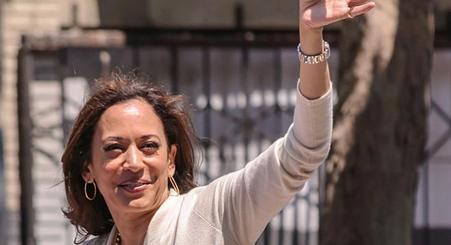 California Democratic attorney general Kamala Harris