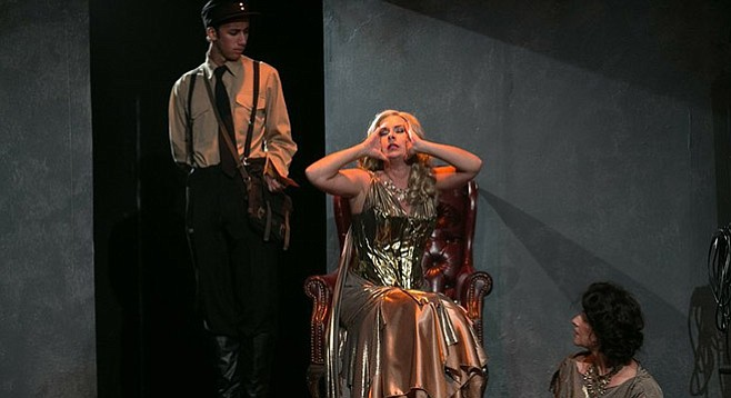 Amazons and Their Men at Diversionary Theatre