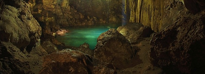 Cenote XKEKEN Yucatan Q.R Natives say that it was discovered by a group of Mayan's when they sow a pig going back and forth to this cave ,one day the fallow hem and they discovered this majestic cenote! XKEKEN:PIG ,maya dialect