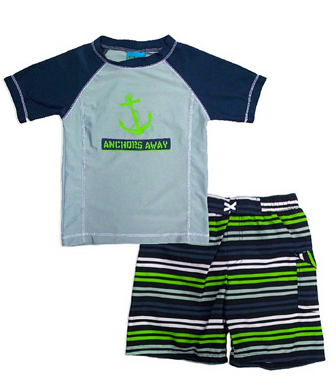 We have clothes and swimwear for children.