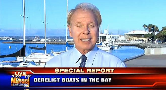 Ed Lenderman's story had no sea legs, says the author
