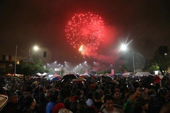 Tijuana's daily Frontera didn't report the independence-day violence in Plaza Fiesta