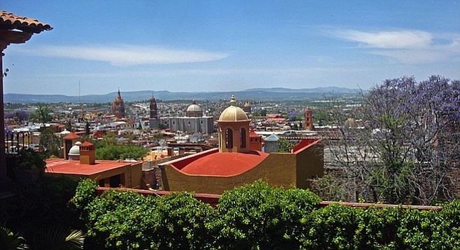 A vista of San Miguel isn't complete without its characteristic Spanish colonial architecture.